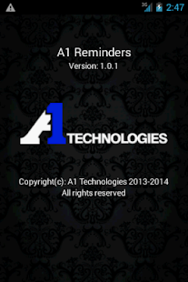A1Reminders- screenshot thumbnail