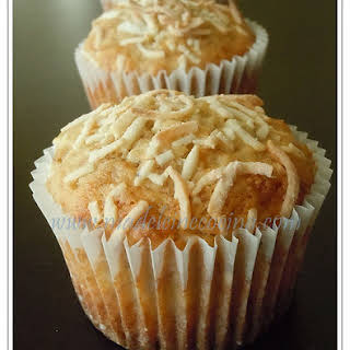 Banana and Coconut Muffins.