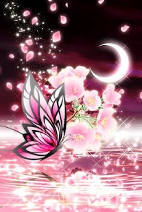 Moonlit Spring Butterfly - screenshot thumbnail