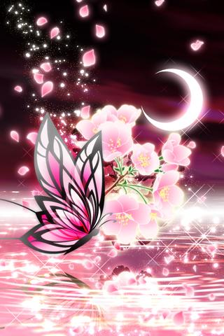 Moonlit Spring Butterfly - screenshot