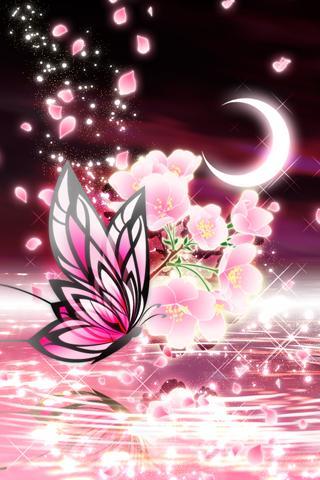 Moonlit Spring Butterfly - screenshot