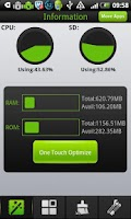 Screenshot of One Touch Optimize