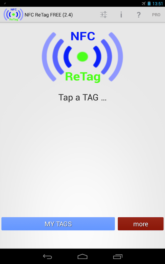 NFC ReTag FREE - screenshot