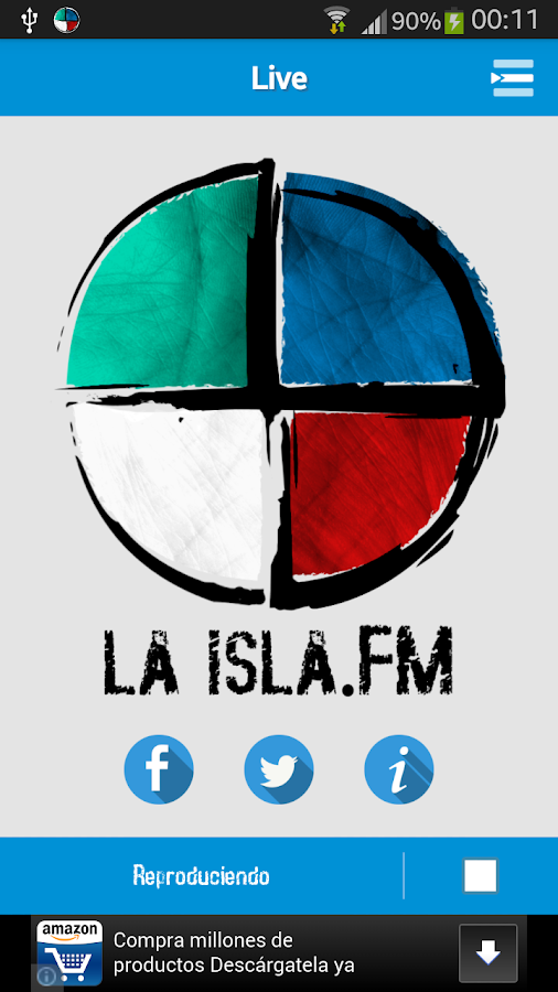 laisla.fm - screenshot