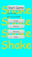 Screenshot of Shake Shake dangerous game