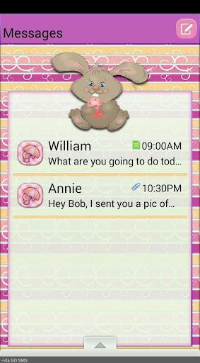 HappyEaster GO SMS THEME