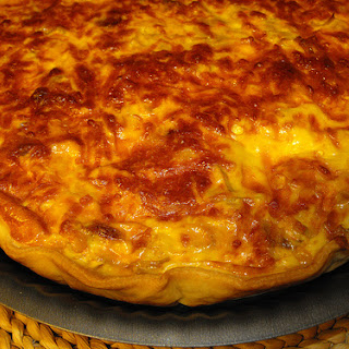 Chicken and Vegetables Quiche