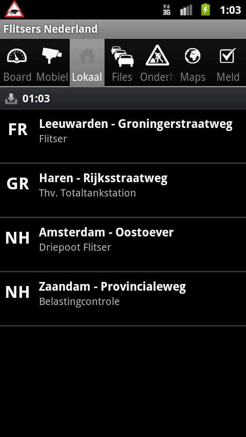 Flitsers (Reclame vrij)- screenshot