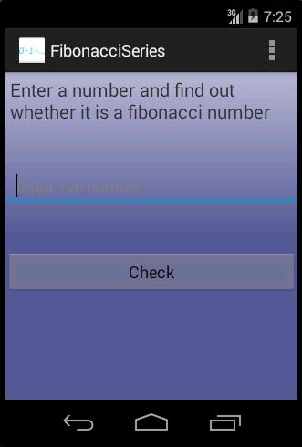 FIbonacci Series Number