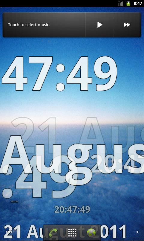 Time Flies LW- screenshot