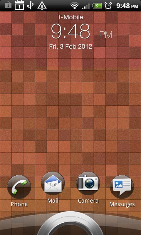 Square Pads LWP - screenshot