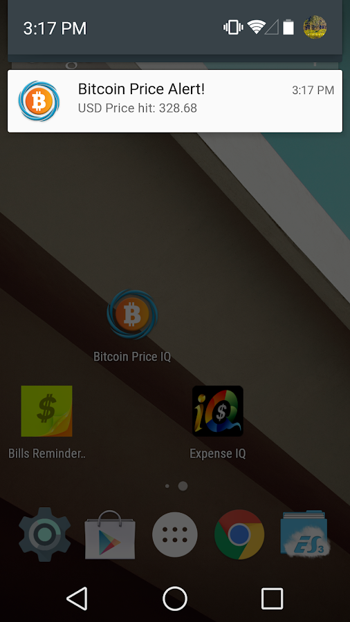 Bitcoin Price IQ - Android Apps on Google Play