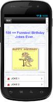 Screenshot of 101 + Funniest Birthday Jokes