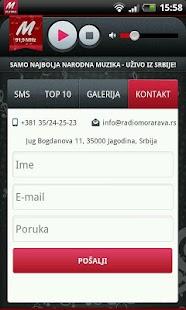 Radio Morava screenshot