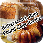 Butterscotch Rum Pound Recipe
