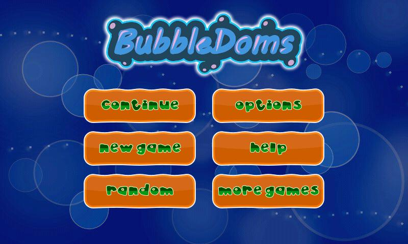 BubbleDoms- screenshot