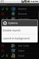 Screenshot of LaunchAfterBoot