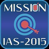MISSION IAS 2015