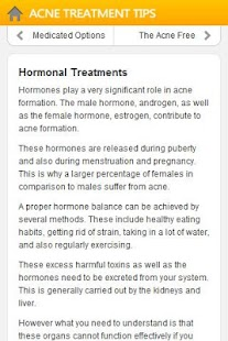 Acne Treatment Tips - screenshot thumbnail