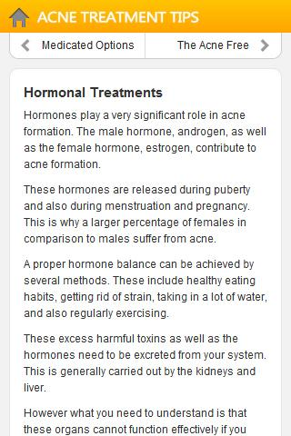 Acne Treatment Tips - screenshot