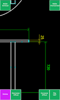Screenshot of Inard CAD Pro