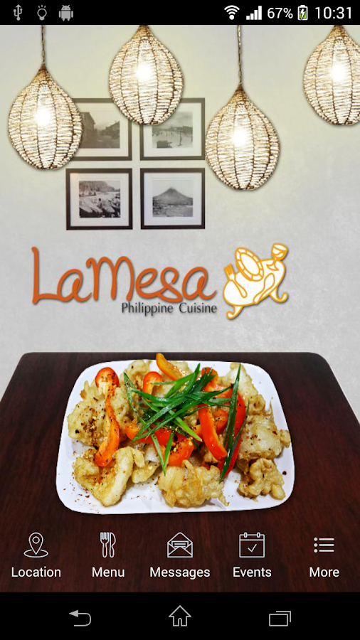 LaMesa Philipine Cuisine- screenshot