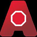 Caltrain: AnyStop logo