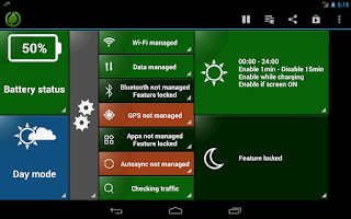 Screenshot of GreenPower Free Battery Saver