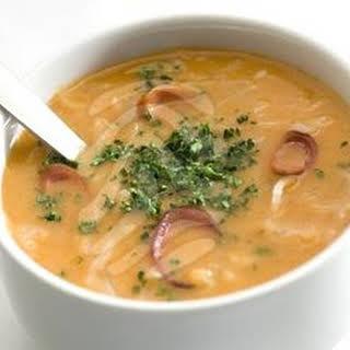 Frankfurter Soup.