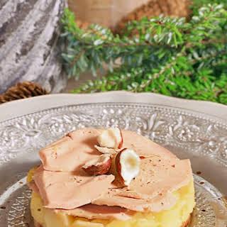 Apple and Foie Gras Tarte Tatin.