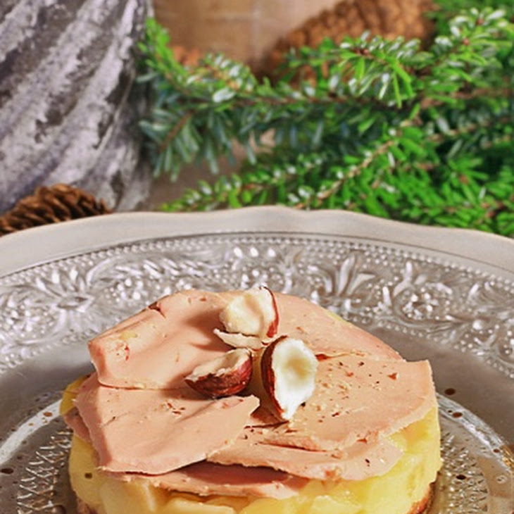 Apple and Foie Gras Tarte Tatin