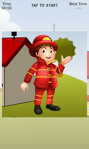 Fireman Samy Sliding Puzzle