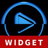 Poweramp Widget Android Blue