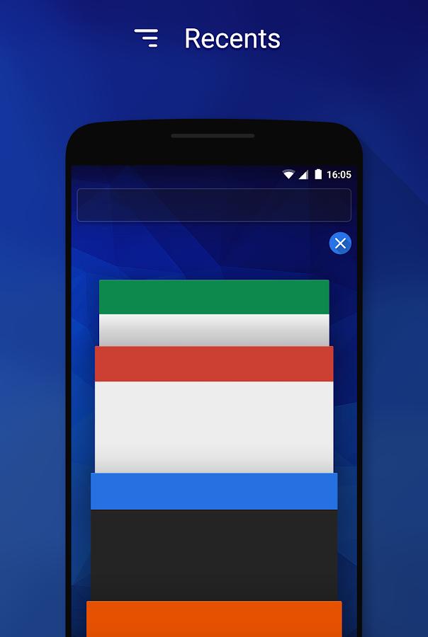 Flux - CM12.1 Theme- screenshot