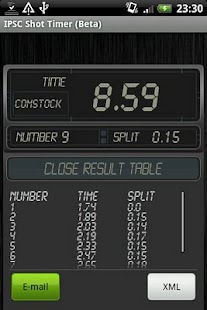 IPSC Shot Timer - screenshot thumbnail