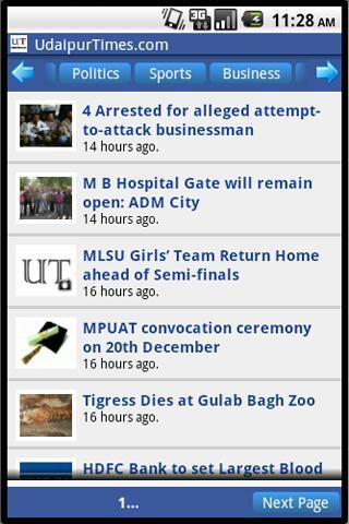 UdaipurTimes.com- screenshot