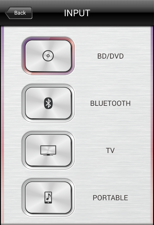HOME THEATER CONTROLLER - screenshot