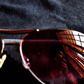 #selfie by Sheeik Mohideen P - People Portraits of Men ( reflection, self portrait, sunglasses )