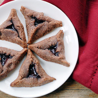 Chocolate Raspberry Hamantaschen