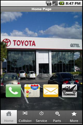 Gettel Toyota - screenshot