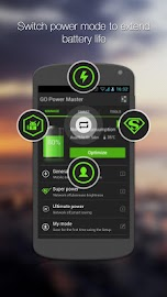 GO Battery Saver &Power Widget Screenshot 2