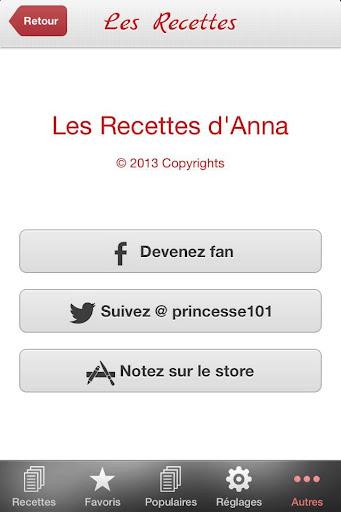 【免費生活App】Recettes Familiales-APP點子