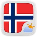 Norwegian Language GOWeatherEX icon