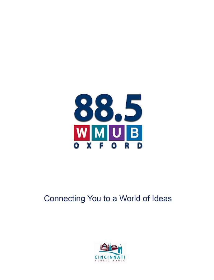 WMUB Public Radio App - screenshot