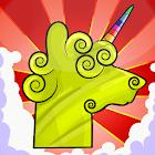 Llama Unicorn vs Rainbow World icon