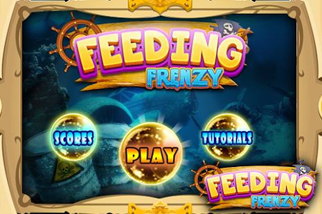 Feeding Frenzy- Fish eats fish