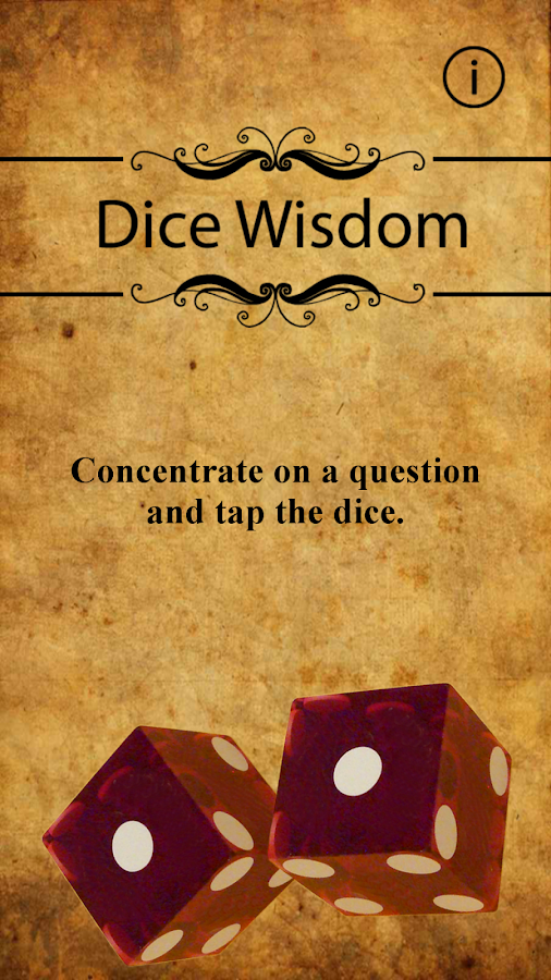 Dice Wisdom- screenshot