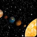 Sun system icon