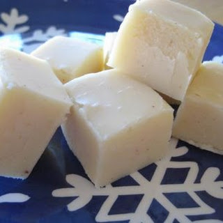 White Chocolate Fudge.