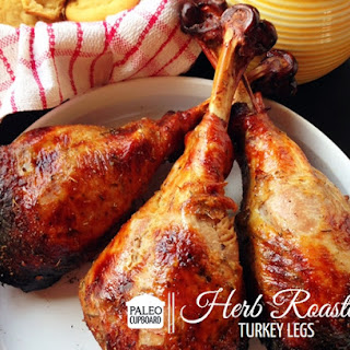 Paleo Herb Roasted Turkey Legs Recipe